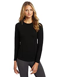 Duofold by Champion Varitherm Womens Thermal Long-Sleeve Shirt KEW3 - Black - S