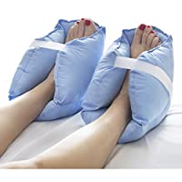 DMI Heel Cushions, Heel Protectors, Heel Protection, One Pair, Blue