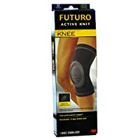 3M FUTURO护多乐 护膝篮球跑步登山膝盖护具中号 固定式骑行运动护具