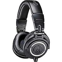 Audio Technica 鐵三角 ATH-M50x專業錄音室監聽耳機,黑色