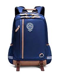 学生防水轻便书包,儿童小学书包,男孩用书包