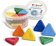 Primo 三角蜡笔,各种颜色 浴缸 30 支 30 瓶装