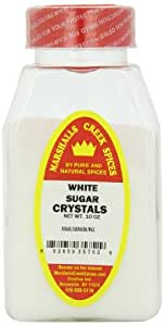 Marshalls Creek Spices Sugar Crystals White Seasoning, 10 Ounce (Pack of 12)