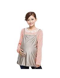十月妈咪银纤维防辐射吊带 孕妇防辐射服孕妇装 防辐射衣服XL号