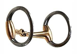 Colorado Saddlery 铜口蛋蛋形蛇形钻,不锈钢