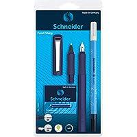 Schneider 施耐德 Ceod Shiny 书写套装 带钢笔 墨水笔 中性笔 (右手和左手 M 号笔,含墨胆蓝) powder pink