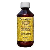 Honey B Healthy Original 8 盎司(约 226.8 克) 奶瓶,富含精油喂养刺激剂