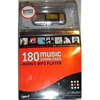 512MB MP3 播放器 + 1 年电子音乐订阅服务