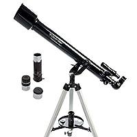 CELESTRON 21087可 powerseeker 80AZS 望远镜(黑色)
