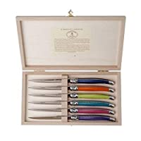 Laguiole 6 件套牛排刀刀具套装,Linen_Parent London 7217