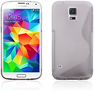 Oddless Entities® S 系列设计 TPU 手机壳适用于三星 Galaxy S5 i9600 灰色