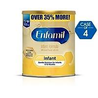 Enfamil 美赞臣婴儿*奶粉,30盎司(约850.5克)罐装 - 每包4罐