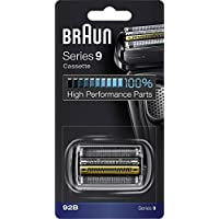 BRAUN 博朗 剃須刀更換部件 92B 黑色-兼容Series 9剃須刀