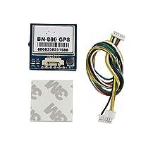 Skywin Beitian BN-880 GPS 模块 - 3V-5.5V 主动式 GPS 带闪光灯和指南针,适用于 Arduino Raspberry PI 其他控制器