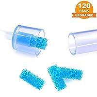 120-件装高级吸鼻器卫生过滤器,替换NoseFrida 吸鼻器过滤器,BPA,邻苯二甲酸盐和不含乳胶