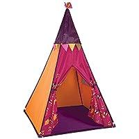 B.Toys 比乐 印第安帐篷 室内玩具屋 游戏屋 发光 炫彩灯光-树莓红 婴幼儿童益智玩具 礼物 3岁+ BX1544Z