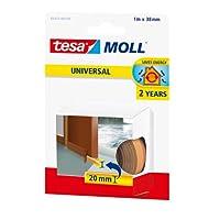 tesa 德莎 德国进口 摩尔万用型门底用嵌缝泡沫密封条 尺寸为1m*38mm 棕色