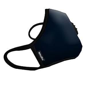Vogmask N99CV时尚成人/青少年防雾霾 pm2.5 防尘 防过敏源 户外运动旅行口罩 Noir(经典黑诺)1只 M号 (参考体重:51-130磅/23-58公斤)(进口)