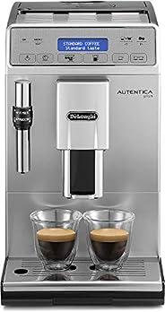De'Longhi 德龙 Autentica Plus 全自动咖啡机,卡布奇诺,浓缩咖啡,ETAM29.620.S,银