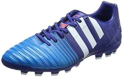 adidas 阿迪达斯 NITROCHARGE 男 足球鞋Nitrocharge 3.0 AG B44412 亚马逊紫 F14/FTWR 白/太阳能蓝2 S14 39 (UK 6)