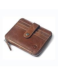 Geremen 手工缝制 头层牛皮卡包 零钱包 小钱包 杂物包 公交卡包 迷你钱包 XYX08