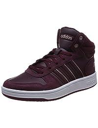 adidas NEO 阿迪达斯运动生活 女 休闲篮球鞋 adidas NEO 阿迪达斯运动生活女休闲鞋B42108 B42108 酱紫/酱紫/白 37 (UK 4.5)