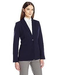 Calvin Klein Women's Single-Button Suit Jacket