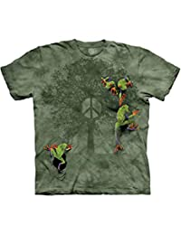 The Mountain Men's Peace Tree Frog Short Sleeve Tee