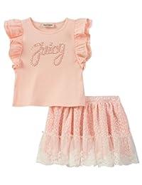 Juicy Couture 女童长袖上衣和套头连衣裙套装