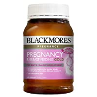 Blackmores 澳佳宝 进口孕妇黄金营养素含叶酸DHA澳洲 180粒/瓶 含叶酸DHA保护胎儿健康(包邮包税) 澳洲原装进口