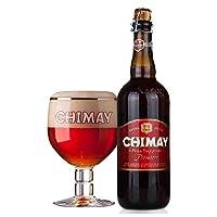 智美 比利时进口啤酒 Chimay智美啤酒750ml瓶装 经典修道士啤酒 果香味