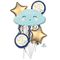 ANAGRAM International 3850701 铝箔气球花束,多色