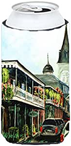 Caroline's Treasures MW1183MUK Across the Square St.Louis Cathedral Michelob Ultra Koozies