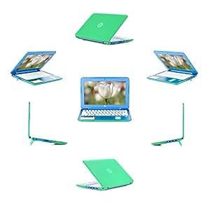iPearl mCover 硬质保护壳适用于 11.6 英寸 HP Stream 11 Dxxx/Rxxx 系列(不适合 HP Stream X360 11-p0xxx 系列敞篷)Windows 笔记本电脑mCover-HP-Stream-11-Dxxx-GREEN