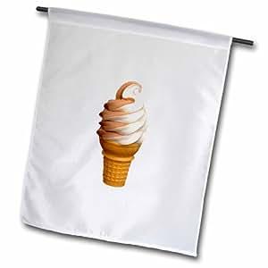 3dRose fl_1002_2 软蛇花园旗,45.72 x 68.58cm
