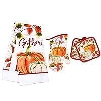秋季主题厨房亚麻 4 件套~ 家庭系列(赠品汽车总动员 TM )