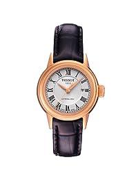 TISSOT 天梭 瑞士品牌  卡森系列机械手表 女士碗表  T085.207.36.013.00