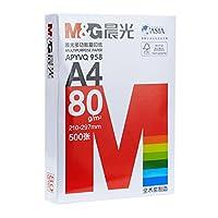 晨光 A4纸 打印复印纸 80g纯木浆500张 a4白纸 单包装