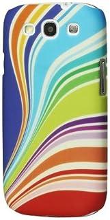 So'axess BCASGI9300-38 手机壳适用于三星 I9300 Galaxy S III 彩虹设计