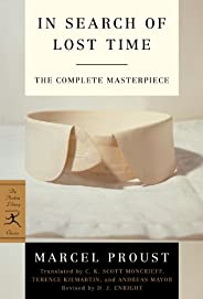 The Modern Library In Search of Lost Time, Complete and Unabridged 6-Book Bundle: Remembrance of Things Past, Volumes I-VI (