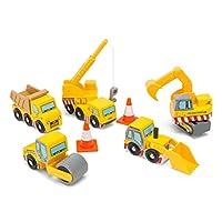Le Toy Van 木制工程車輛套裝