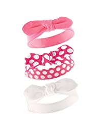 Yoga Sprout Baby Girls' 3 Pack Bow Baby Headbands