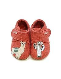 Living Kitzbühel 婴儿女孩婴儿魔术贴鞋 Lama & Kaktus 家居鞋