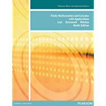 Finite Mathematics and Calculus with Applications: Pearson New International Edition (English Edition)