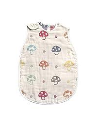Hoppetta champignon 六层纱布大号蘑菇睡袋 儿童尺寸 7240, 2~7岁适用