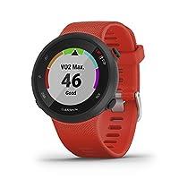 Garmin 佳明 Forerunner 45/45 S - GPS 运动手表 纤细轻便设计 训练计划 健身追踪器