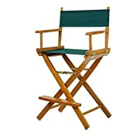 Buy Now or Never Counter Height Honey Oak Director Chair