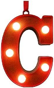 圣尼古拉斯方形圣诞节季节性节日字母字母字母字母交织字母挂件装饰品 字母 C