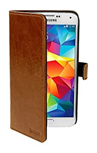 SKINK SBOOKCARDIPH6-C/B 书本风格皮套适用于 Apple iPhone 6/6S 焦糖/黑色
