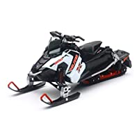 New Ray NEWRAY - 1:16 Polaris 800 Switchback Pro-X 雪地车,白色,57784